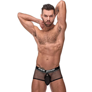 Male Power 120260 Cock Pit Net Mini Cock Ring Short