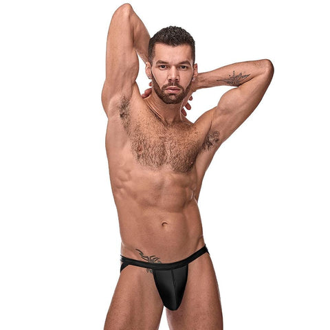 Male Power 352261 Cage Matte Strappy Ring Jockstrap