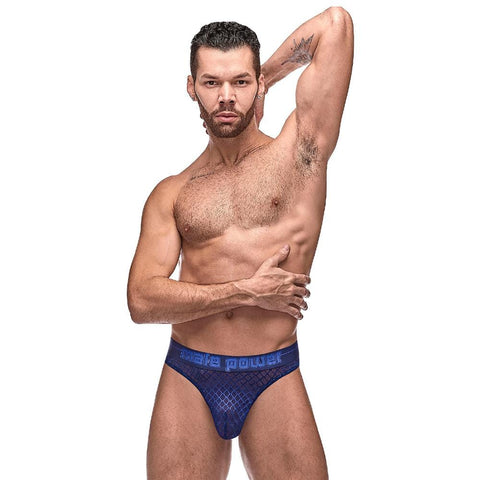 Male Power 442264 Diamond Mesh Bong Thong