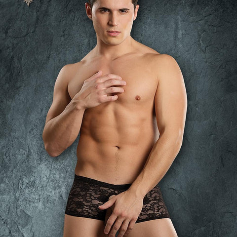 Male Power 468162 Stretch Lace Double Pleasure