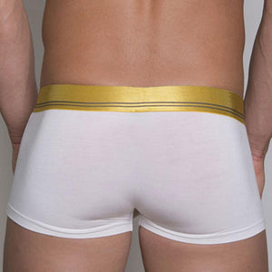 Obviously MCI  Metallic Low Rise Boxer Brief Gold/Dark Gray