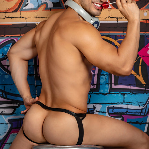 Miami Jock MJE042 Metal Ring Jockstrap