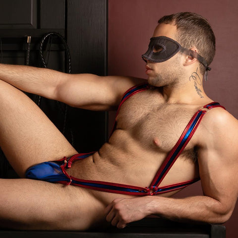 Miami Jock MJV022 Harness Body Suit