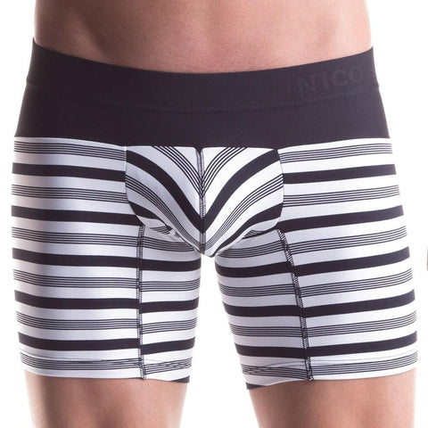 Mundo Unico 13100913 Colombian Stripes Microfiber Mid Boxers Briefs Multicoloured