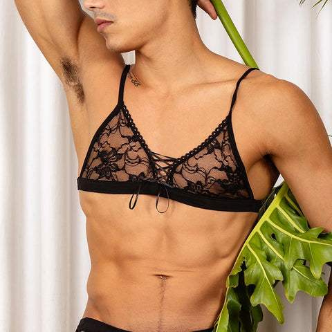 Secret Male SMA012 Fitted Lace Bra