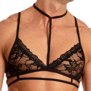 Secret Male SMA016 Choker Bra