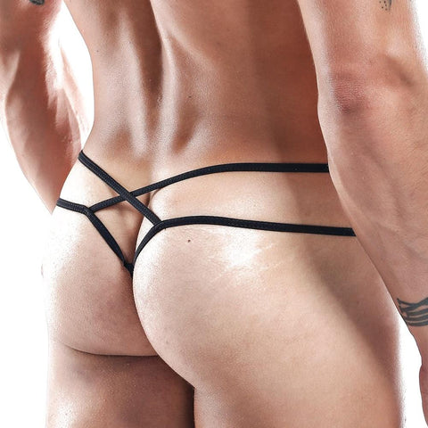 Secret Male SML006 Micro G-string Wh