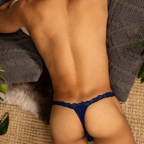 Secret Male SML009 Frill G-String