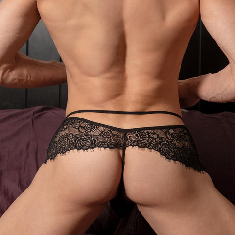 Secret Male SML015 Peak a Boo Thong