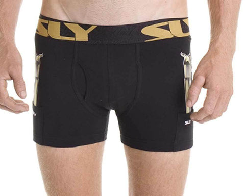 SLY SLY1-THB-W  THUG LIFE BLACK Work Boxer Brief
