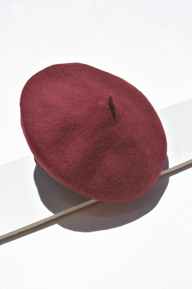 Berry Rouge Beret