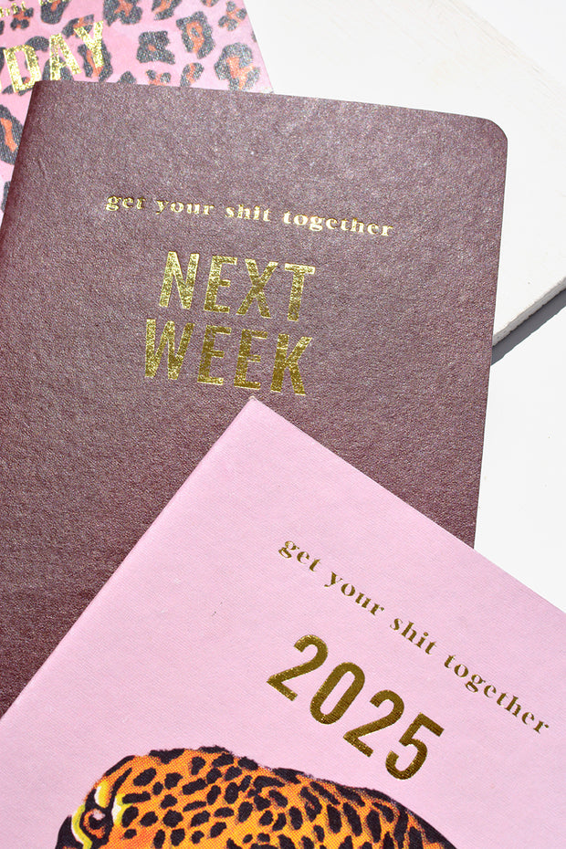 Get your sh*t together A5 notebook pack