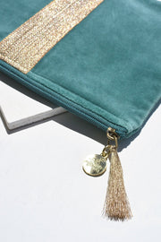 The Timeless Teal Clutch
