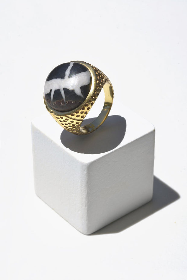 Septarian Ring