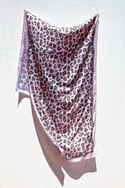 The Day Pink Leopard Spot Scarf