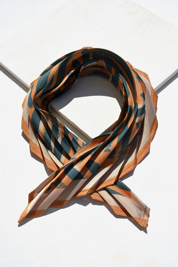 The Night Fever Brush Pleat Scarf