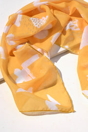 The GEO ROCK SUN Scarf
