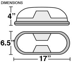 Designer Emergency Light Dimensions