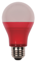 LED 6W A19 COLORED - LED6A19
