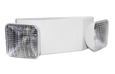 Indoor Emergency Light Unit White Housing