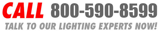 Call our knowledgeable and helpful lighting experts now!