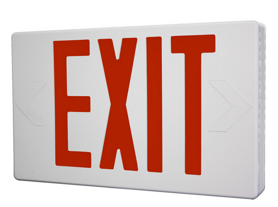 The exit sign is used for emergencies to help people find exits.