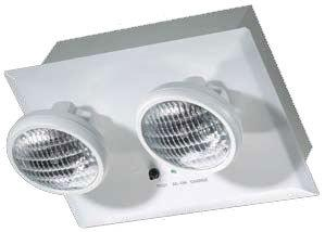 recessed emergency light