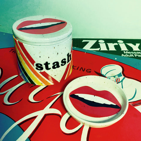 Stash Jar and Ring Dish part of the Stainsby Studios x Quincy Raby Collaboration