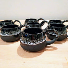 Load image into Gallery viewer, Commission: Black and White Mugs