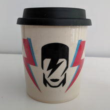 Load image into Gallery viewer, Bowie Travel Mug in White Clay