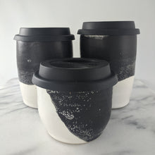 Load image into Gallery viewer, Black & White Travel Mug