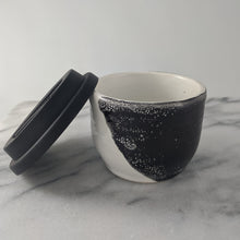 Load image into Gallery viewer, Bruce Black & White Espresso Travel Mug