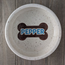 Load image into Gallery viewer, Large Personalized Dog Bowl