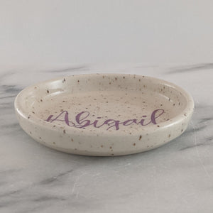 Personalized Name Dish