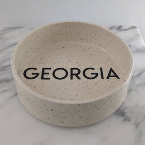 Medium Personalized Dog Bowl