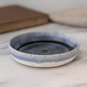 Johan Blue Grey & White Ring Dish