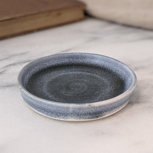 Hilde Small Blue Grey & White Ring Dish