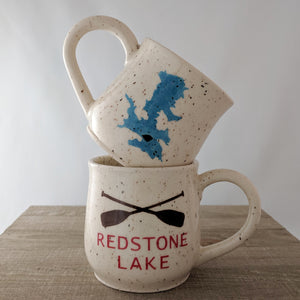 Commission: Cottage / Chalet / Lake House Mugs