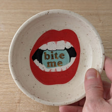 Load image into Gallery viewer, Bite Me Ring Dish