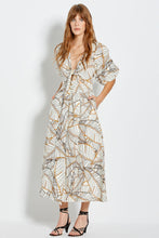 Asilah Dress - Vintage Palm - Ivory
