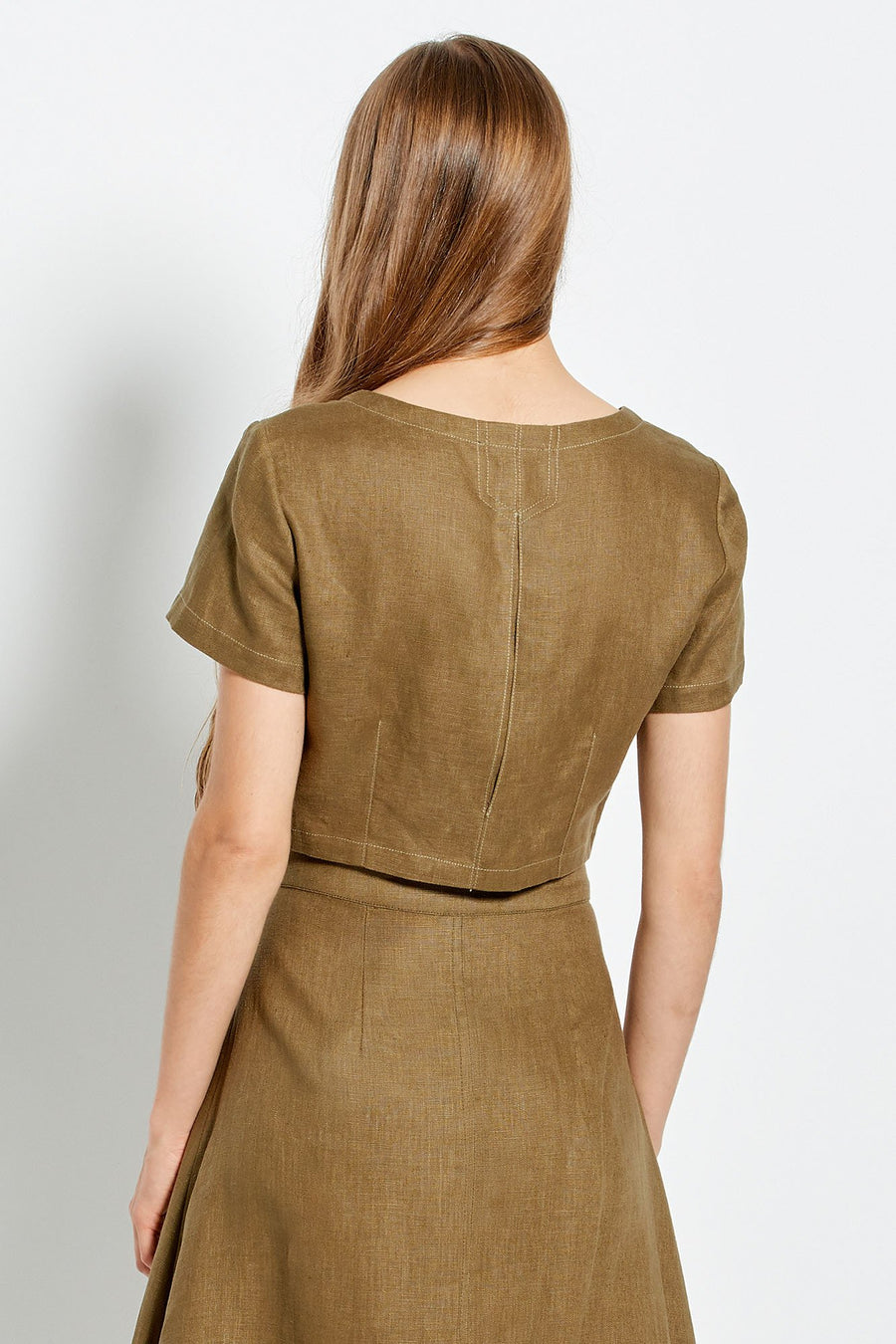 Lou Top - Olive