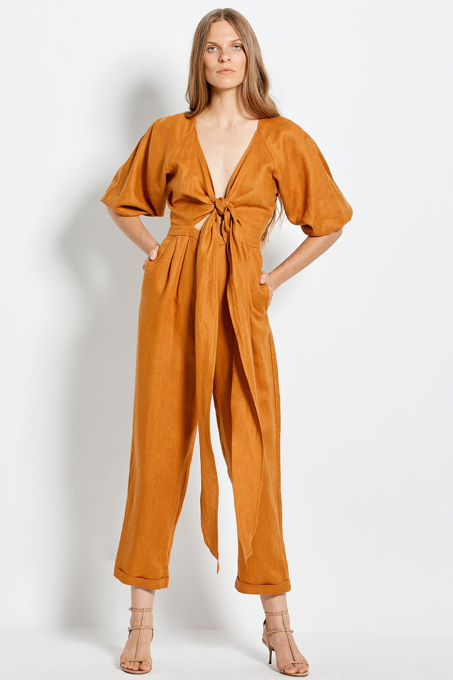 Medina Jumpsuit - Tan