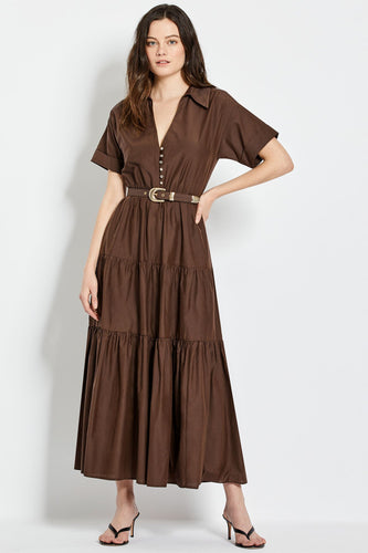 Amina Dress - Cocoa