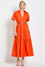 Amina Dress - Mandarin