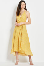 Cynthia Dress - Custard Vine Ditsy