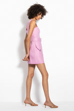 Button Up Mini Dress - Orchid