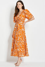 Danielle Dress - Sketch 60's Tonal Paisley
