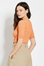 Epices Knit Top - Mandarin