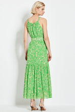 Monica Dress - Leaf 60's Tonal Paisley