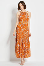 Monica Dress - Sketch 60's Tonal Paisley